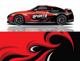 Premium Vector Car Decal Wrap Design