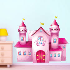 Castle Wall Decal Girl Wall Decal Murals Primedecals