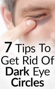 7 tips to get rid of black under eye