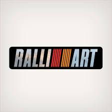 Mitsubishi Ralliart Flat Vinyl Decal 7415a033 Garzonstudio Com