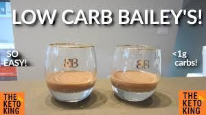 low carb baileys