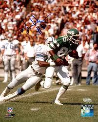 Wesley Walker Autographed 8x10 Photo New York Jets MCS Holo #51225 ...