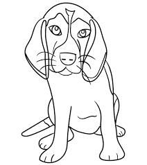 105+ tranh tô màu con chó đẹp và siêu dễ thương