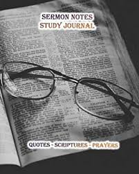sermon notes study journal quotes included in this christian