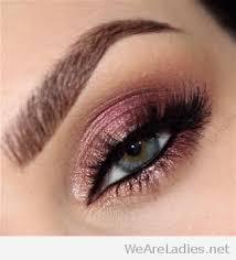 rose gold glitter eye makeup