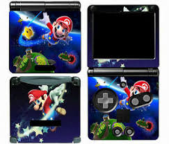 Mario 005 Vinyl Decal Skin Cover Sticker For Game Boy Advance Gba Sp 707948352825 Ebay