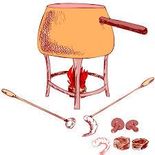 fondue gift basket idea free idea