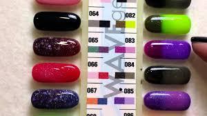 wavegel mood changing gel nail polish