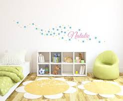 Sparkle Star Decal Name Wall Decal Girls Room Decor Etsy Wall Decals Girls Room Wall Patterns Vinyl Wall Art Decals