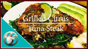Easy Grilled Tuna Steak Recipe ...