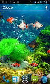 live aquarium screensaver for android