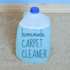 the best ever homemade carpet cleaner