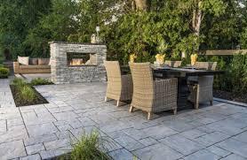 patio design ideas using concrete