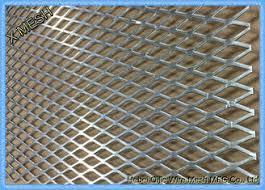 Flattened Heavy Duty Expanded Metal Mesh 4x8 Mild Steel Sheet For Flooring