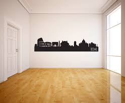 Rome Italy Skyline Vinyl Wall Decal The Personalized Gift Co