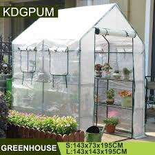 portable plastic pvc pe greenhouse
