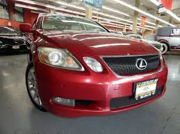 used 2007 lexus gs 350 awd red awd