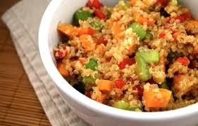 receta quinoa con verduras thermomix