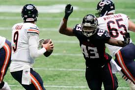 stunning win vs Falcons Chicago Bears ...