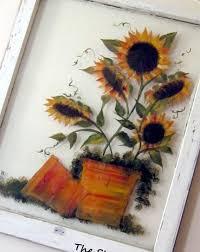 window frame art ideas artwork shades