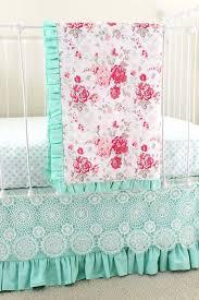 mint green crib bedding vintage chic
