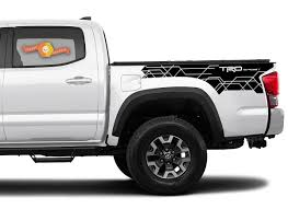 Product Toyota Tacoma 2016 2020 Trd Sport Side Kit Vinyl Decals Graphics Sticker