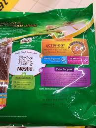 nestle milo chocolate malt 1kg and 3in1
