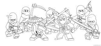 all ninjago coloring pages characters Coloring4free ...