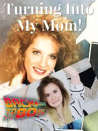 recreating my mom s hair makeup 80