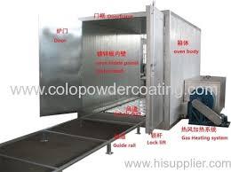 homemade powder coat oven from china