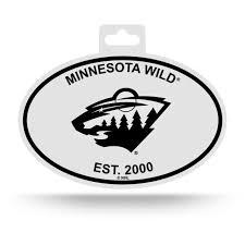 Minnesota Mn White State Oval Car Window Bumper Sticker Decal 5 X 3