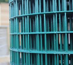 2 44m High Green Pvc Coated Welded Mesh Jacksons Fencing