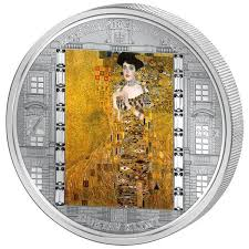 KLIMT GUSTAV ADELE - COOK ISLAND 2012   Gustav klimt, Klimt, World coins