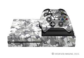 E Skins Xbox One Gaming Console Skin Urban Military Camo Pattern Decals