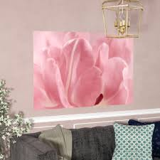 House Of Hampton Rosy Pink Tulip Ii Wall Decal Wayfair
