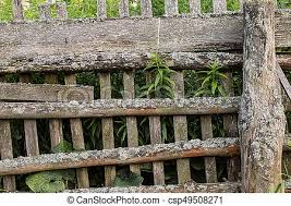 Grey Wooden Fence Background Textural Grey Rustic Wooden Fence