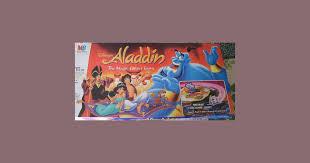 aladdin the magic carpet game board