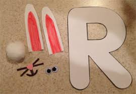 letter r rabbit craft all kids network