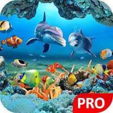 fish live wallpaper 3d aquarium