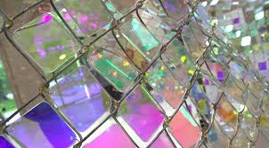 Shimmering Chain Link Fence Installation By Soo Sunny Park Colossal