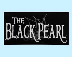 Black Pearl Decal Etsy