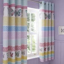 Floral Butterfly Blackout Eyelet Curtains Dunelm Blackout Eyelet Curtains Butterfly Bed Linen Curtains