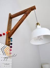 diy light sconce corbel style ikea