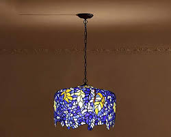 tiffany style ceiling lights hanging