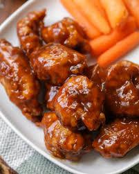 boneless honey bbq wings so simple