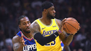 clippers vs lakers ticket is shaping