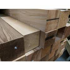 Red Cedar Fence Posts Slatted Screen Fencing