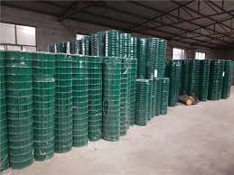 Green Pvc Coated Wire Mesh Fencing Panels Rolls Jdx12 8 For Tree Guards