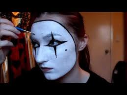 easy french mime costume makeup