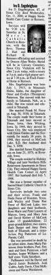 Iva Patterson obituary - Newspapers.com